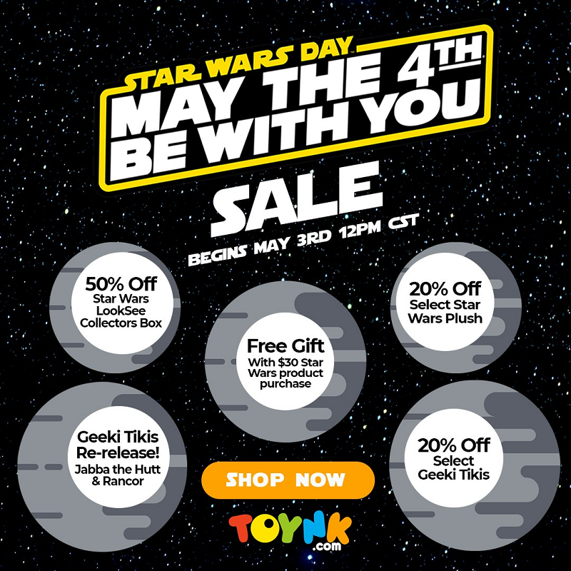 Star Wars May the Fourth Toynk