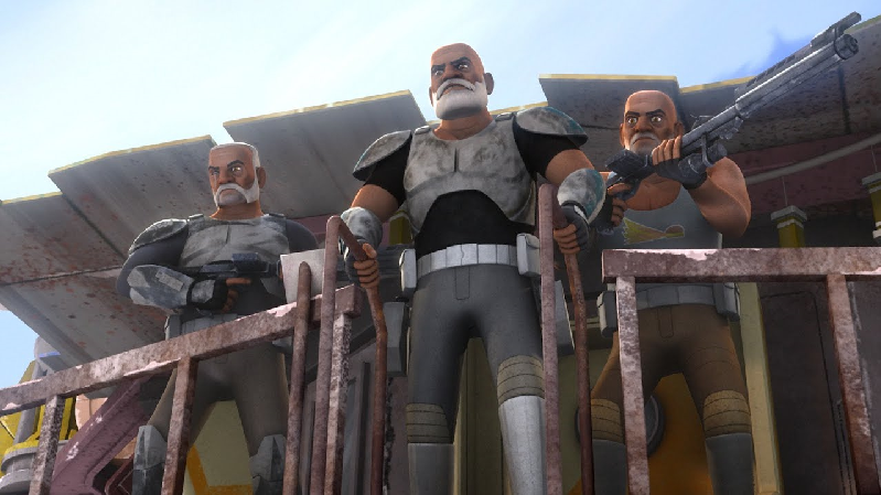 Star Wars Rebels Rex Gregor Wolfe