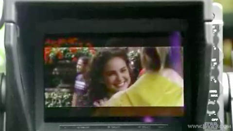 Natalie on monitor