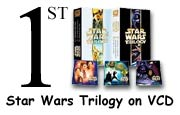 Star Wars Trilogy VCDs supplied by AllVCD.com