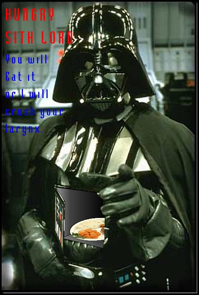 Des photos & vidéos pour rire ! ambiance STAR WARS - Page 2 Hungrysithlord01