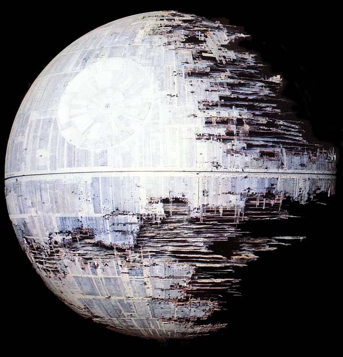 STAR WARS Death Stars - Death star blueprints