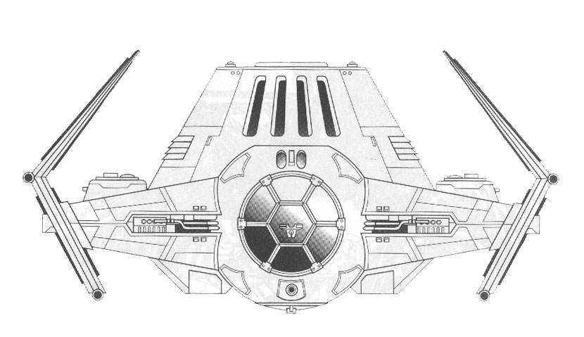 Star Wars Line Drawing Edition of The Star Wars