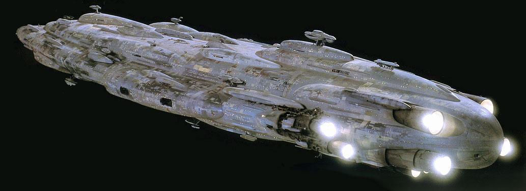 Дом-1 Звёздный крейсер MC80 для примера в орегинале