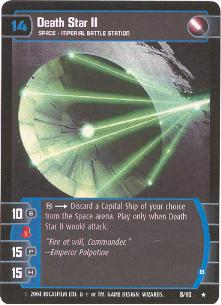 Death Star II (B) - #8 - Rare
