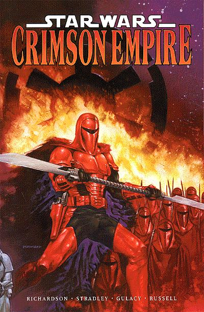 Star Wars: Crimson Empire TPB.  Click on image to return to gallery.