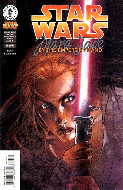 Star Wars: Mara Jade.  Click on image to return to profile.