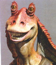 Jar Jar Binks Image from www.theforce.net