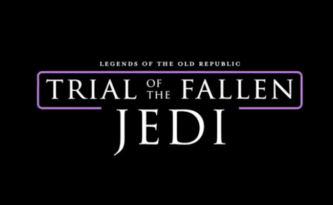 Trial Of The Fallen Jedi