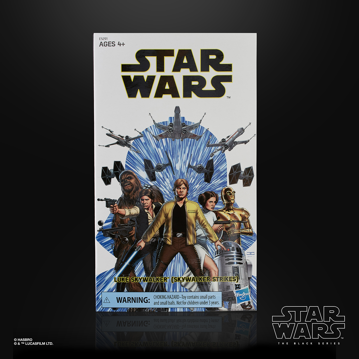 Hasbro STAR WARS THE BLACK SERIES LUKE SKYWALKER SKYWALKER STRIKES Figure