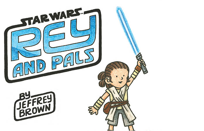 star wars rey and pals