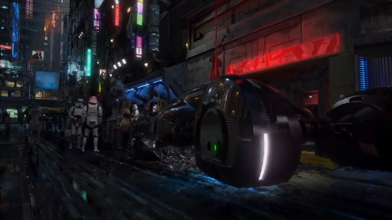 Star Wars Underworld Test Footage Leaked Online