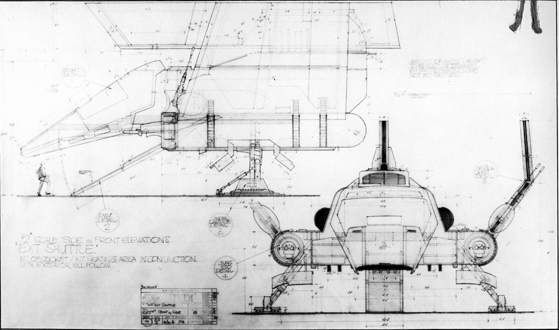 Star Wars Lambda Class Shuttles