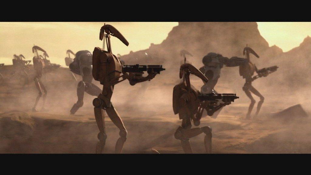 Star Wars Battle Of Geonosis Index